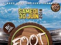 Foot solidaire par l'association Root'Secours