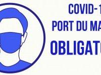 COVID-19 : port du masque obligatoire dans toute la Métropole