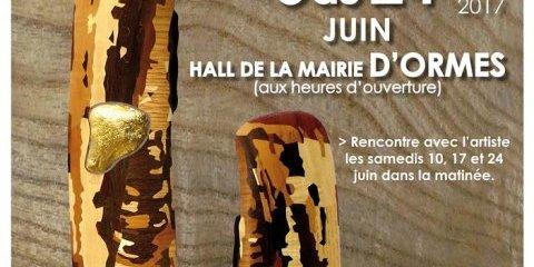 Exposition SOLEN de Jean-Claude Prévault