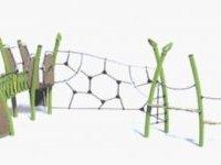 """Square de La Pléïade : remplacement du jeu """"araignée"""""""